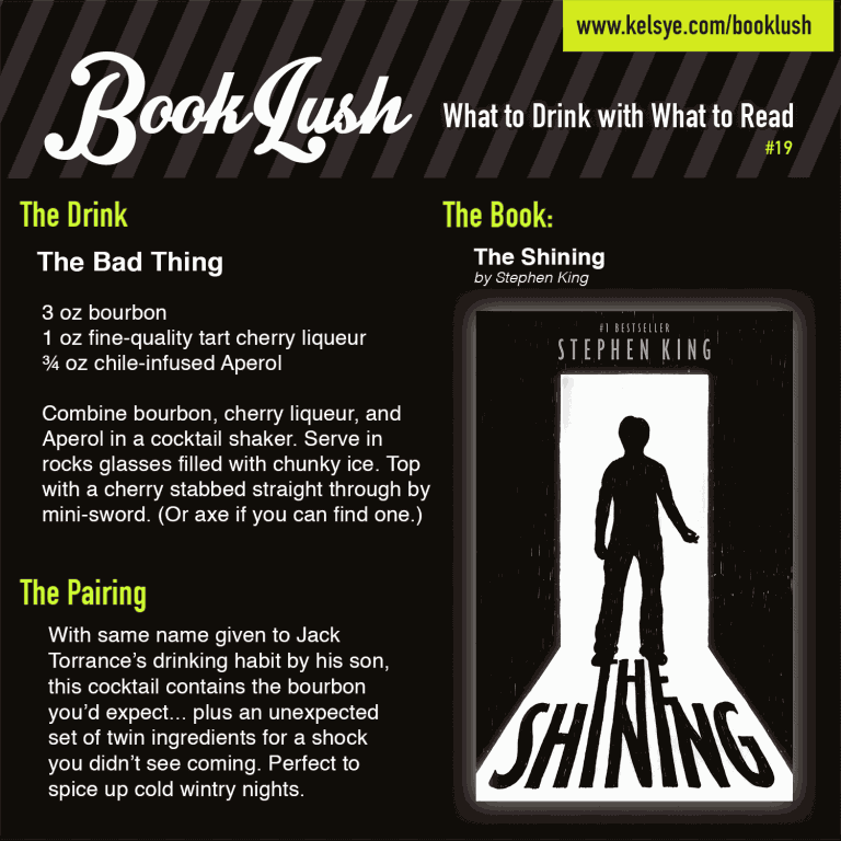Book Lush 19 - Stephen King The Shining